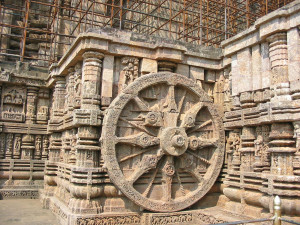 Konark Sun Temple wall