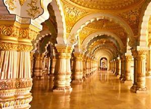 Mysore Palace inside