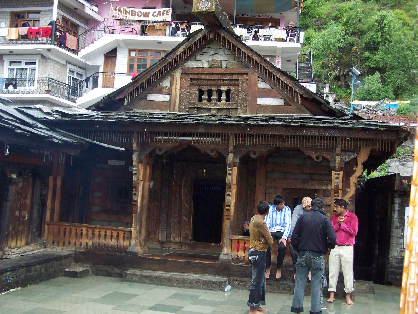 Vashisht Hot Water Spring and Temple