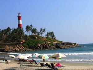 kovalam beach lighthouse Kovalam Beach Kerala
