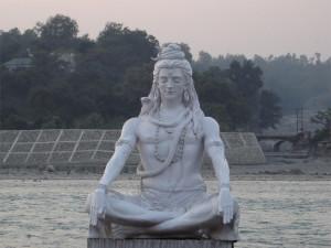 Shiva statue Rishikesh