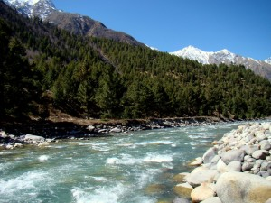Baspa river towards Sangla