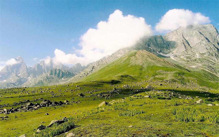 Sonamarg hills - Kashmir