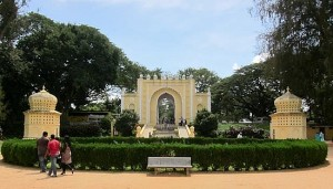 Tipu Sultans Summer palace entry gate
