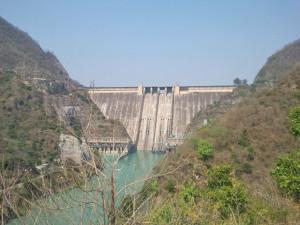bhakra dam or nangal dam