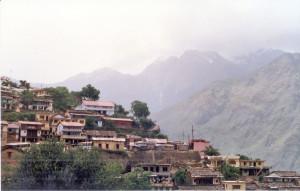 Joshimath town view