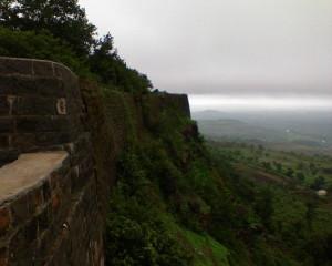 Panhala hills view