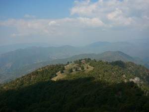 binsar hills veiw