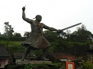 panhala statue of Bajiprabhu