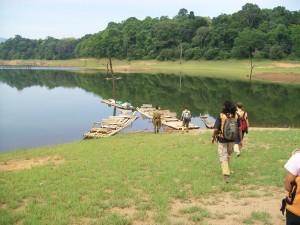 Bamboo Rafting - Periyar lake