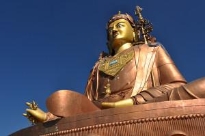 Guru Padmasambhava statue