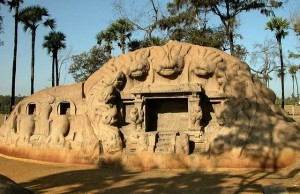 Tigers Cave mahabalipuram