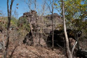 bhimbetka rock