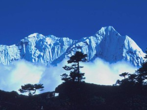 himalaya snow mountain