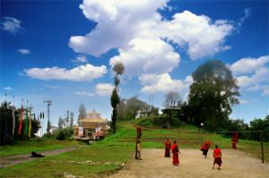 ravangla monk - sikkim