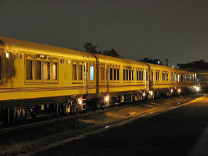 Palace on wheels - train