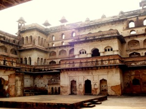 The Raj Mahal, Orchha