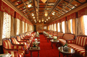 palace on wheels - inside