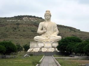 Buddha statue near Belum caves