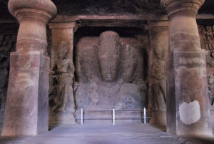 Elephanta Caves shiva