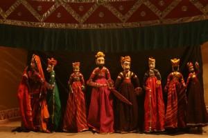 chokhi dhani puppet show - jaipur