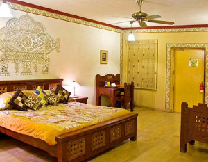 chokhi dhani resort-rooms