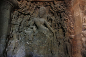 shiva at elephanta caves