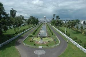 ujjayanta palace garden view