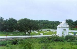 British cemetery Goa