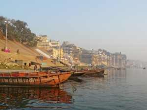 Ghats of Varanasi india
