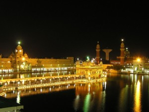 Golden Temple Amritsar at night
