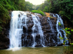 abbey falls - coorg waterfalls