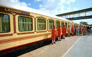 palace on wheels-India