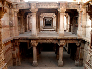 Adalaj step well
