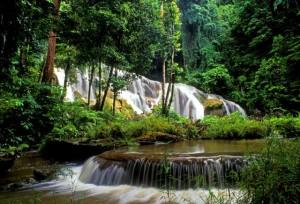 White sur Falls Little Andaman Island