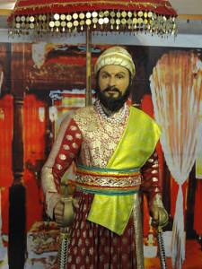 Shivaji Maharaj - wax museum Lonavala