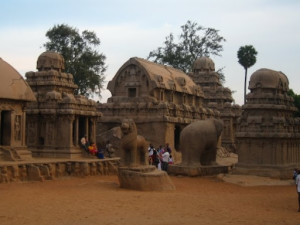 Pancha Rathas at Mahabalipuram