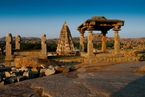 Ruins of Hampi India