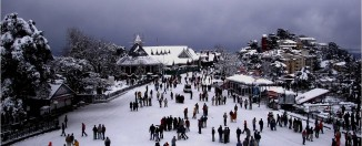 Shimla snow fall