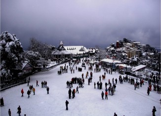 Shimla snow fall