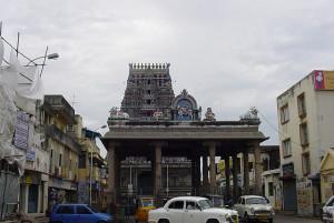 Sri Parthasarathy Temple Chennai