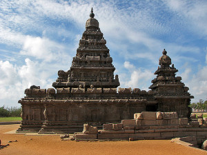 Thirukadalmallai Shore temple at Mahabalipuram