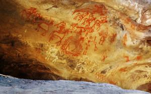 Bhimbetka painting