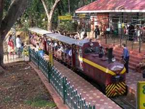 toy train cubbon park