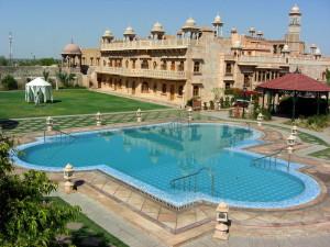 Khimsar Fort Heritage Hotel pool