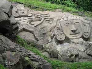 Rock cut carvings at Unakoti Tripura