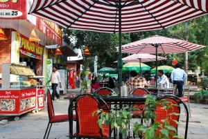dilli haat food stalls