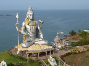 lord shiva idol murudeshwara