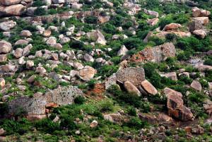 penukonda fort ruins