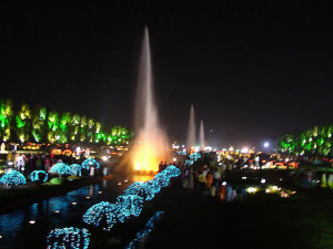 Jubilee Park jamshedpur at night